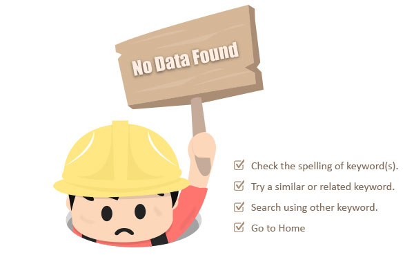 No Data Found